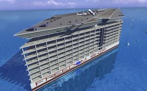 В Соединенных Штатах Америки архитекторы разработали уникальный проект, который поражает воображения своими масштабами. Американцы задумали построить не просто огромный корабль, а настоящий город, который будет бороздить просторы океана. И имя ему «Корабль Свободы».