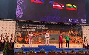 Турнир проходил в Будапеште. Сочинец Эдуард Гаспарян стал чемпионом Европы по каратэ среди юниоров. Он выступал в составе российской сборной в весовой категории до 70 килограммов.