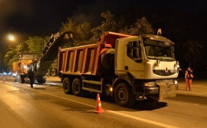 Росавтодор преображает Курортный проспект в Сочи, являющийся частью федеральной трассы М-27