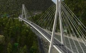 Уникальный сочинский мост почти готов, остались последние штрихи