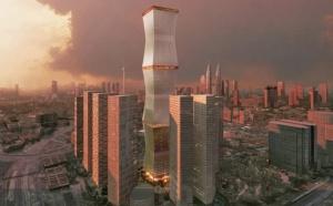 Архитекторы решили подойти к строительству одного из небоскребов в Малайзии креативно. Куала-Лумпур – город, который является столицей Малайзии. Именно в нем и было решено создать уникальный небоскреб. Суть в том, что он будет способен закрываться специальным экраном от солнечного света. Идея принадлежит компании Rex architecture, что находится в Нью-Йорке.