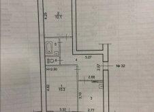 2-к квартира, 50.5 м², 3/5 эт.
