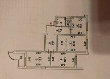 6-к квартира, 130 м², 3/17 эт.