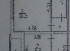 1-к квартира, 38 м², 5/19 эт.