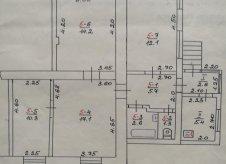 4-к квартира, 72 м², 1/1 эт.