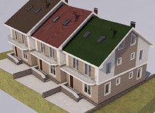 Дом 85 м² на участке 1 сот.