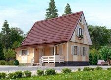 Дом 78 м² на участке 6 сот.