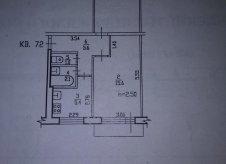 2-к квартира, 47.6 м², 4/5 эт.
