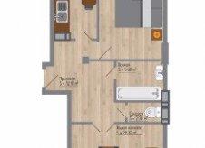 3-к квартира, 86 м², 2/13 эт.