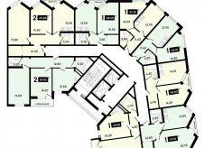 1-к квартира, 36.1 м², 12/16 эт.