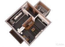1-к квартира, 43.6 м², 15/18 эт.