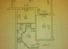 4-к квартира, 72.4 м², 1/6 эт.