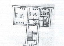 2-к квартира, 45 м², 1/2 эт.
