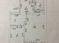 1-к квартира, 47.5 м², 8/9 эт.