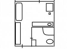 1-к квартира, 12 м², 1/5 эт.