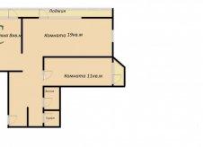2-к квартира, 50 м², 3/12 эт.