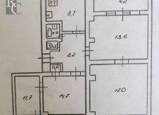 4-к квартира, 83 м², 3/3 эт.