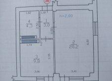 2-к квартира, 37 м², 9/9 эт.