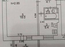 1-к квартира, 34 м², 1/2 эт.