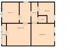 2-к квартира, 64 м², 3/10 эт.