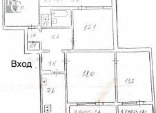 4-к квартира, 89 м², 9/9 эт.