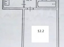 1-к квартира, 32 м², 1/5 эт.