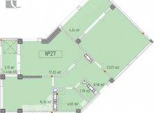 2-к квартира, 70 м², 3/6 эт.