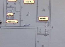 3-к квартира, 55 м², 2/5 эт.